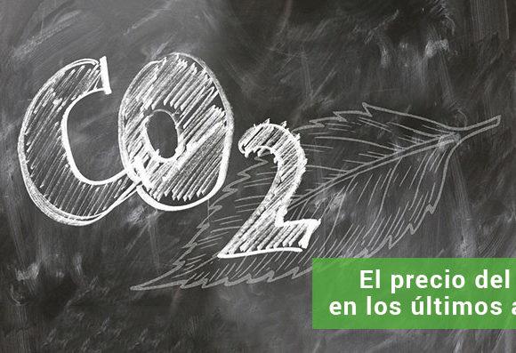 Subida del precio del CO2