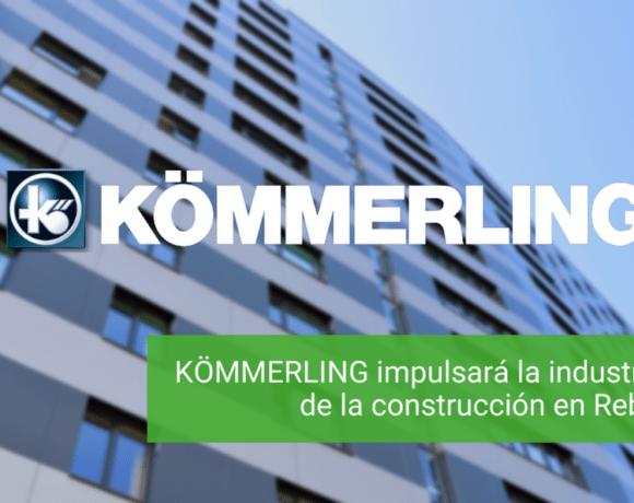 KÖMMERLING impulsará la industrialización de la construcción en Rebuild 2021