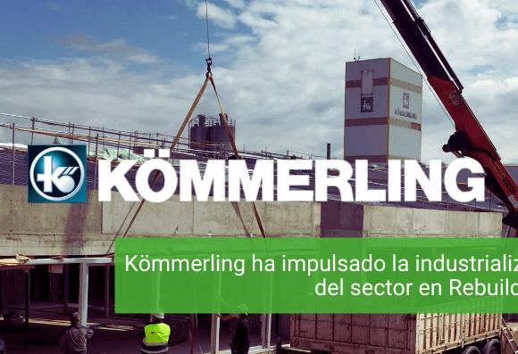 Kömmerling ha impulsado la industrialización del sector en Rebuild 2021